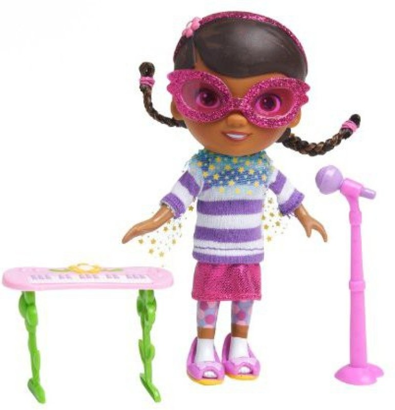 Just Play Doc Mcstuffins Rockstar Set(Multicolor)