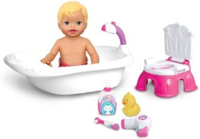 Fisher-Price Little Mommy Bath And Potty Training Play Set