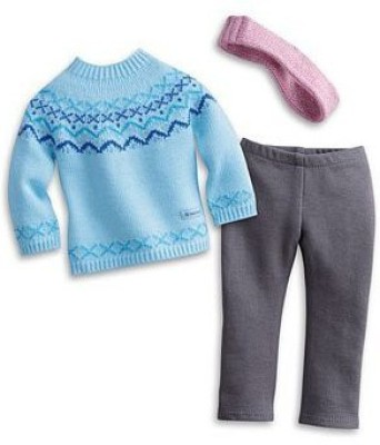 American Girl Frosty Fair Isle Set For+ Charm My Ag 2013