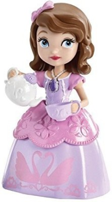 Mattel Disney Sofia The First Sofia And Teapot Figurine