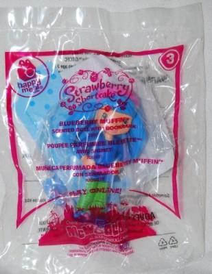 McDonald,s Mcdonalds 2010 Strawberry Shortcake Blueberry Muffin 3
