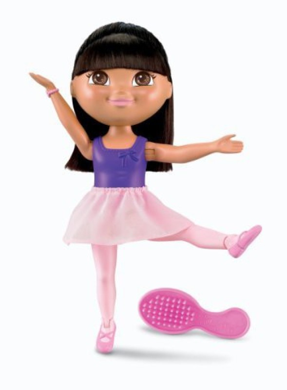 Dora the Explorer Fisherprice Ballet Star(Multicolor)