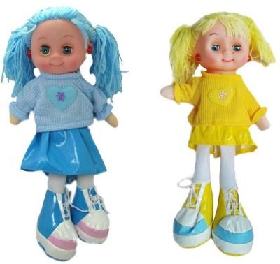 Arthr Soft & cute Yellow Blue Dora Baby Doll