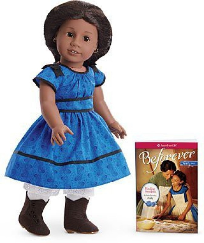 American Girl Beforever Addy & Paperback Book(Blue)