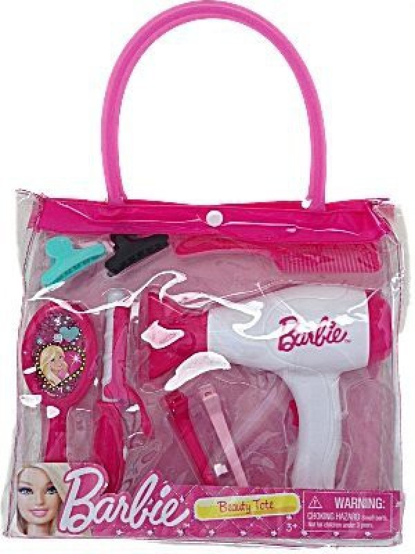 Just Play Barbie Beauty Tote(Pink)
