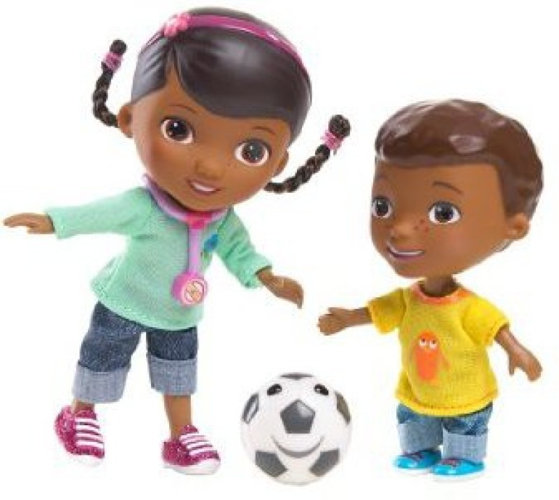 Just Play Doc Mcstuffins Doc And Donny(Multicolor)