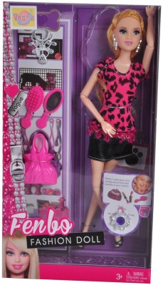 VENUS-PLANET OF TOYS Fenbo Fashion Doll With Fashion Accesiories