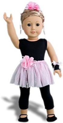 DreamWorld Collections Show Time Black Unitardpink Tutu Skirtballet