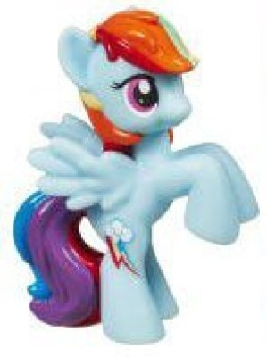 Hasbro My Little Pony Friendship Is Magic 2 Inch Pvc Rainbow Dash