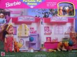 Barbie Portable Pet House (Multicolor)