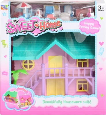 Buds N Blossoms Sweet doll house with accessories