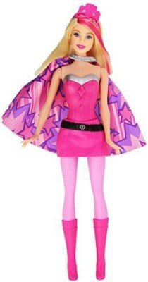 Mattel Barbie In Princess Power Super Hero Barbie Doll(Pink, Black)