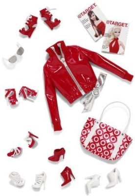 Barbie Basic Red Accessories Collection 02