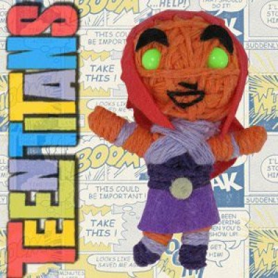 Teen Titans Dolls Dc Comics Starfire String Keychain(Multicolor)