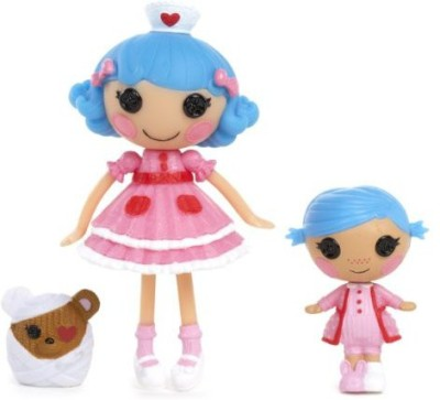 Lalaloopsy Mini Littles Stumbles Bumps ,N, Bruises And Rosy Bumps
