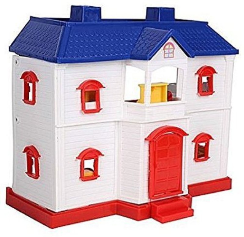 Smiles Creation Country Doll House Set Toy for Kids(Multicolor)