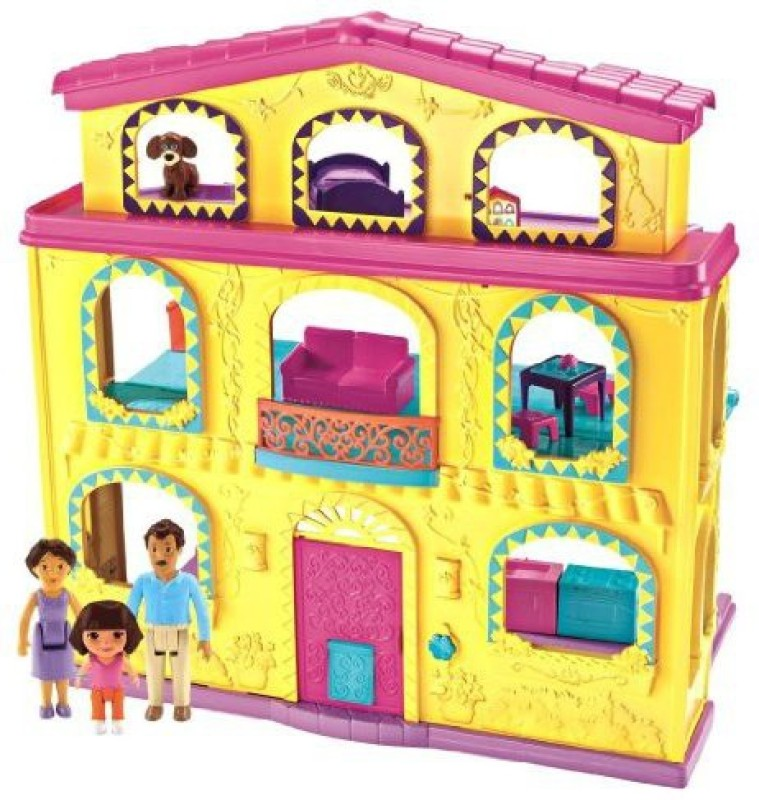 Dora the Explorer Dora The Explorer: Playtime Together Dora and Me Dollhouse(Multicolor)