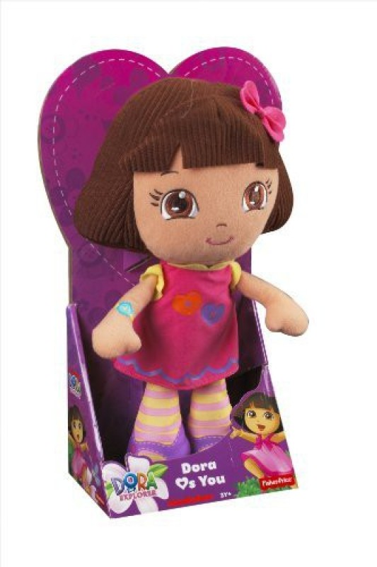Dora the Explorer Fisher-Price: Loves You Doll(Multicolor)