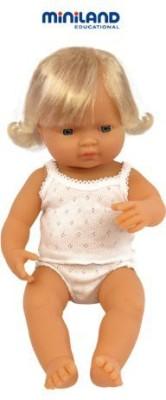 Miniland Ba European Girl (38 Cm15