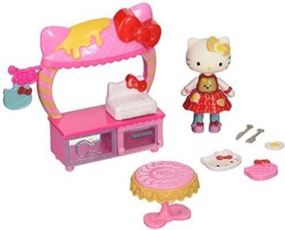 Hello Kitty Cafe And Breakfast Mini Playset