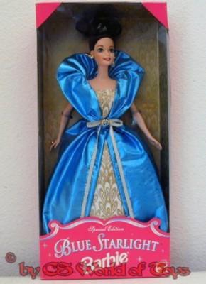 Mattel Blue Starlight Barbie doll(Pink)