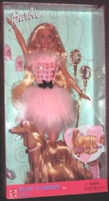 Mattel Barbie & Lacey Glam ,N Groom Set 27271(Pink)
