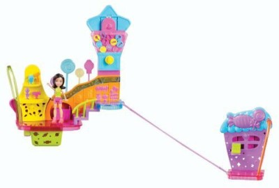 Polly Pocket Wall Party Candy Shop Playset