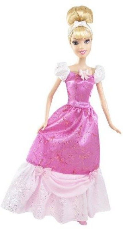 Mattel Disney Princess Sing-A-Long Cinderella Doll(Multicolor)