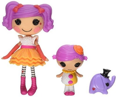 Lalaloopsy Mini Littles Peanut Big Top/Squirt Lil Top