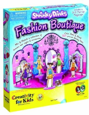 Creativity for Kids Shrinky Dinks Fashion Boutique