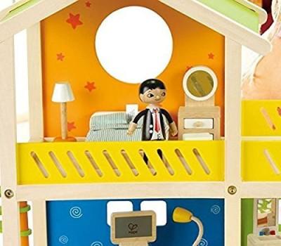 Hape House and Playground Set--Hape--24 piece wooden set(Multicolor)
