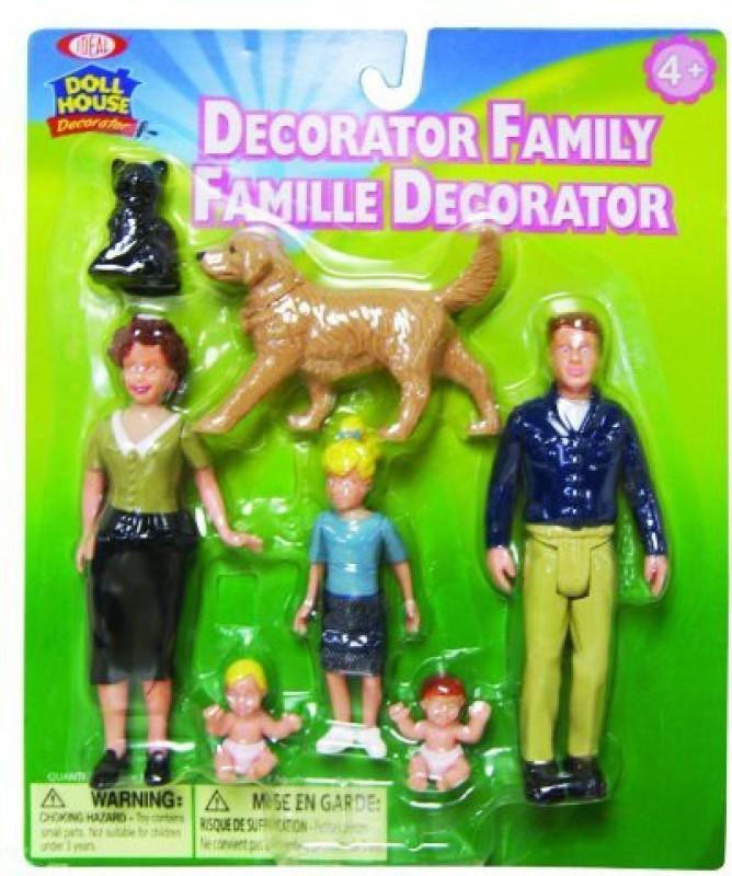 Ideal Decorator Family Figurines(Multicolor)