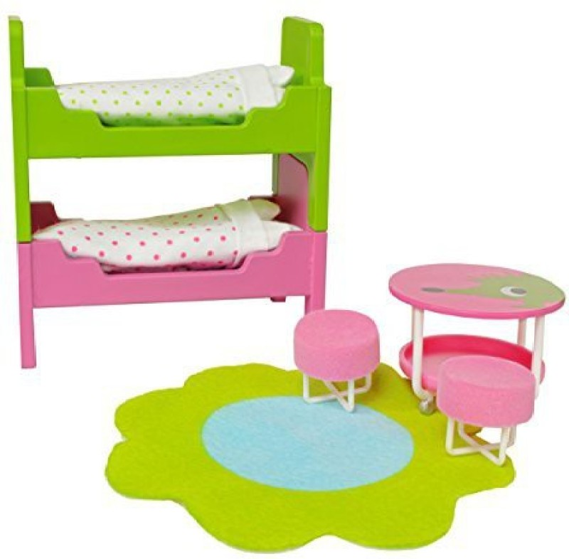 Lundby Smaland Dollhouse Children's Room Set(Multicolor)