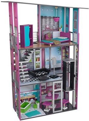 KidKraft Glamorous Dollhouse(Multicolor)
