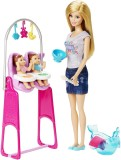 Barbie Careers Twin Babysitter Doll and ...