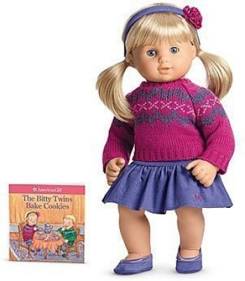 American Girl Bitty Baby Twins Fair Isle Skirt Set for 15, Dolls (Doll Not Included)