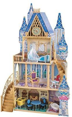 KidKraft Disney Princess Cinderella Royal Dreams Dollhouse(Multicolor)