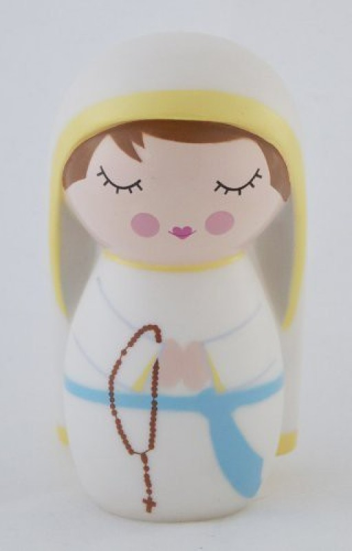 Shining Light Dolls Our Lady of Lourdes Collectible Vinyl Doll(Multicolor)