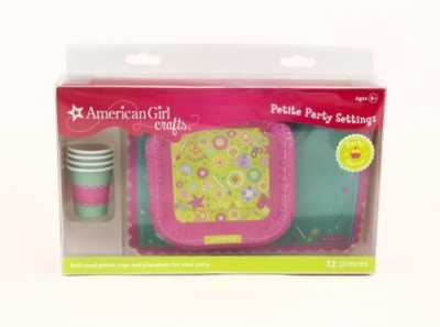American Girl Crafts Size Plates Cups And Placemats