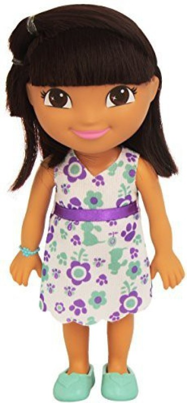 Dora the Explorer Fisherprice Everyday Adventure Pet Friend Dora(Multicolor)