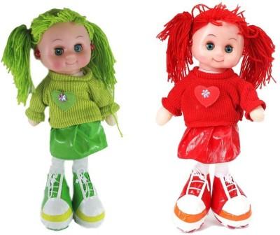Arthr Soft & cute Green Red Dora Baby Doll