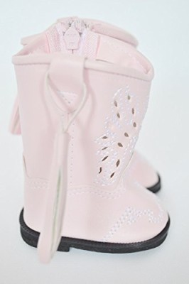 DollsHobbiesNmore Pink Cowgirl Boots For American Girl