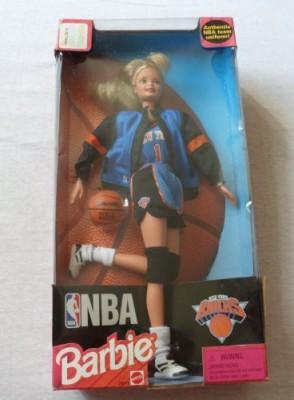 Mattel Barbie Nba New York Knicks