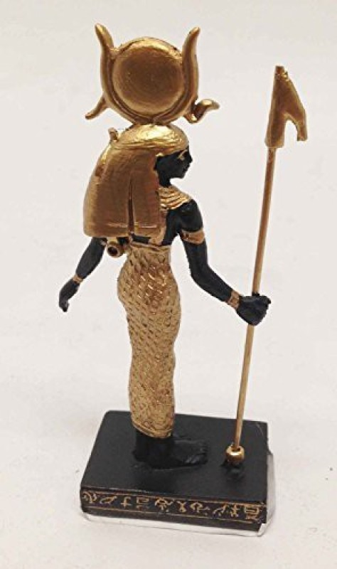 Gifts & Decor GODDESS OF MOTHERHOOD HATHOR STATUE SMALL DOLL HOUSE MINIATURE 3