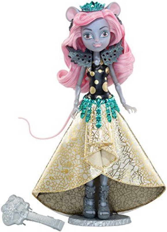 Monster High Boo York, Boo York Gala Ghoulfriends Mouscedes King Doll(Multicolor)
