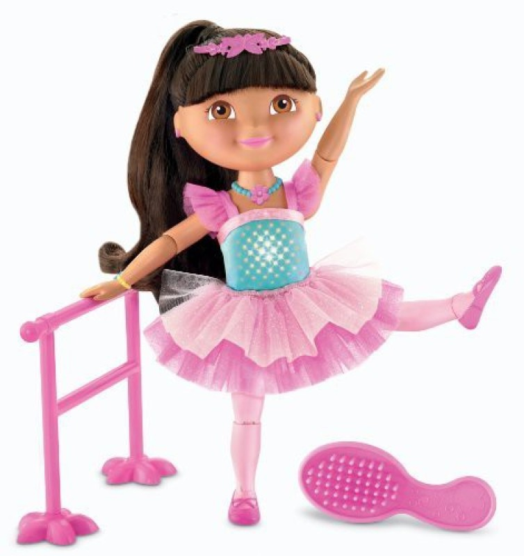 Dora the Explorer Fisherprice Dance And Sparkle Ballerina(Pink)
