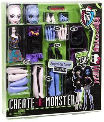 Monster High Create-A-Monster Witch-Cat Girl Starter Set