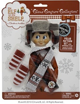 The Elf on the Shelf Polar Pattern Set