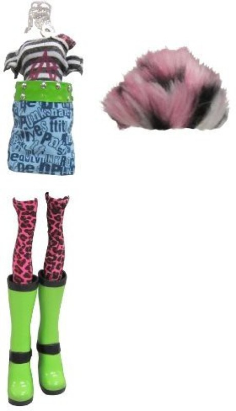 Mystixx Punk Talin Fashion Pack Doll Set(Multicolor)