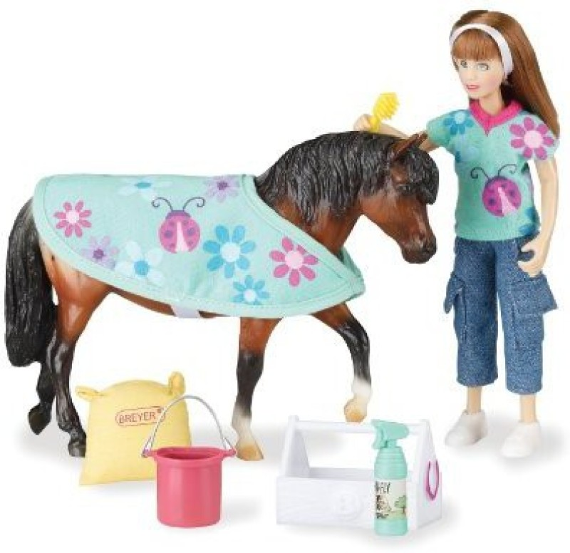 Breyer Classics Pony Care Gift Set(Multicolor)